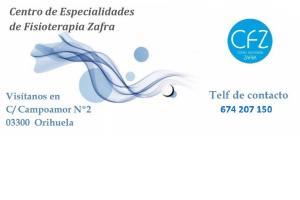 Centro Fisioterapia Zafra