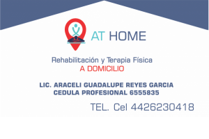 AT HOME Rehabilitacion a domicilio