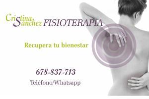 Argés Cristina Sanchez FISIOTERAPIA