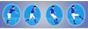 Análisis biomecánico del golpeo de balón en fútbol
