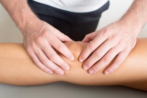 Masaje lesiones rodilla