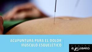 Acupuntura para el dolor músculo-esquelético
