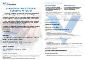 CURSO DE INTRODUCCIÓN AL CONCEPTO AFFOLTER