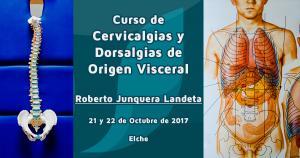 Curso de cervicalgias y dorsalgias de origen visceral