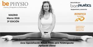Curso de Pilates suelo, accesorios y su aplicación terapéutica en fisioterapia. 3ª Ed. Madrid, Marzo 2018
