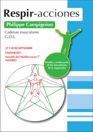 """""""LA RESPIRACIÓN;postura y diafragma"""" impartido por Philippe Champignon"""