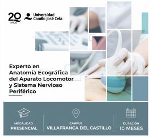 Experto Universitario en Anatomía Ecográfica  del Aparato Locomotor y Sistema Nervioso Periférico