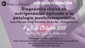 Diagnóstico clínico en nutrigenómica aplicado a la patología musculoesquelética