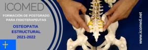 """Formación en Osteopatia Estructural ICOMED 10ª PROMOCIÓN """"por una formación mas humanizada"""""""