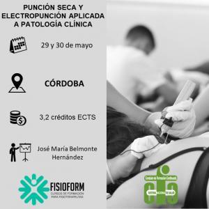 Curso punción seca y electropunción aplicada a patología clínica (Córdoba)