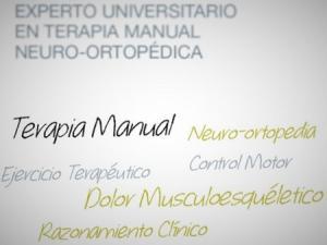 Experto Universitario en TERAPIA MANUAL NEURO-ORTOPÉDICA