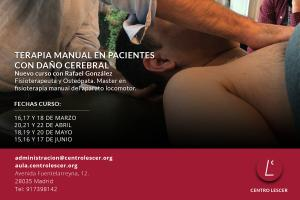 Terapia Manual en Pacientes con Daño Cerebral (Últimas plazas)