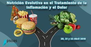 Nutrición Evolutiva en el Tratamiento de la inflamación y el dolor. Alicante