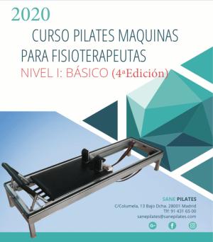 CURSO PILATES MAQUINAS PARA FISIOTERAPEUTAS NIVEL I: BÁSICO (4a Edición)