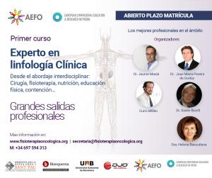 Curso de Expero en Linfología Clínica