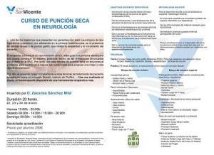 CURSO DE PUNCIÓN SECA EN NEUROLOGÍA