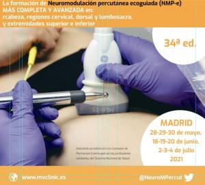 Neuromodulación percutánea ecoguiada (NMP-e) – 34ª ed.