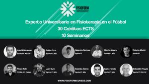 ¡Últimas plazas! Experto universitario en fisioterapia en el fútbol (Madrid) Fisioform-Ucam 30 créditos ects