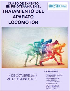 CURSO DE EXPERTO EN FISIOTERAPIA EN EL TRATAMIENTO DEL APARTO LOCOMOTOR