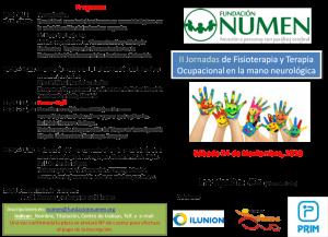II Jornada de Fisioterapia y Terapia Ocupacional de la mano neurologica