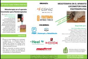 MESOTERAPIA EN EL APARATO LOCOMOTOR PARA FISOTERAPEUTAS