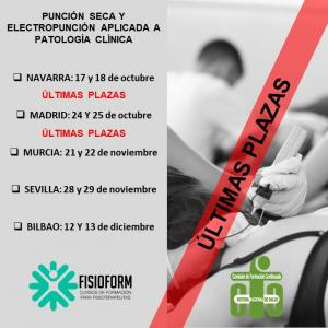 Curso punción seca y electropunción aplicada a patología clínica (Bilbao)