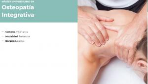 Máster Universitario en Osteopatía Integrativa
