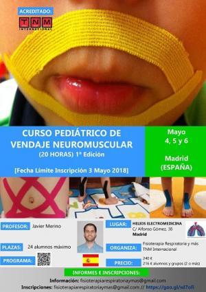 Curso vendaje neuromuscular en pediatría