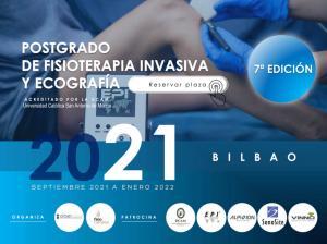 Postgrado Fisioterapia Invasiva y Ecografia Bilbao. Titulo Propio UCAM.  Curso Acreditado.