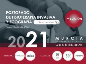 Postgrado Fisioterapia Invasiva y Ecografia Murcia. Titulo Propio UCAM.  Curso Acreditado.