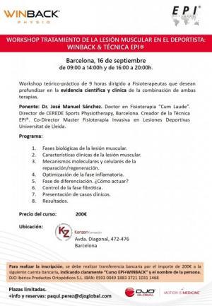 TRATAMIENTO DE LA LESIÓN MUSCULAR EN EL DEPORTISTA: TECARTERAPIA & TÉCNICA EPI®