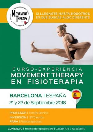 MOVEMENT THERAPY EN FISIOTERAPIA - Curso-experiencia.