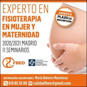 Experto en Fisioterapia en Mujer y Maternidad