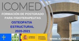 """Formación en Osteopatia Estructural ICOMED 9ª PROMOCIÓN """"por una formación mas humanizada"""""""