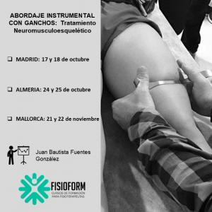 Abordaje instrumental con ganchos: Tratamiento neuromusculoesquelético (Madrid)