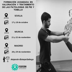 Curso formación avanzada en valoración y tratamiento de las patologías de pie y tobillo (Madrid)