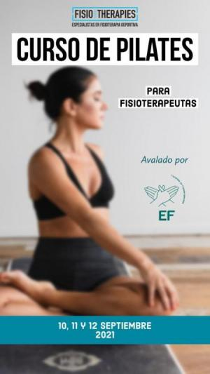 Curso de Pilates para Fisioterapeutas suelo, deportivo y terapéutico con y sin implementos