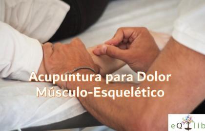Acupuntura para Dolor Músculo-Esquelético