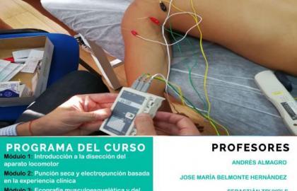 ¡Últimas 2 plazas! Experto universitario en fisioterapia invasiva y ecografía musculoesquelética (Alicante) Fisioform-Ucam 30 créditos ects