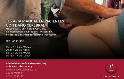 Terapia Manual en Pacientes con Daño Cerebral