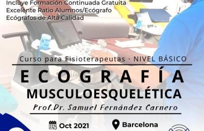 Curso Básico de Ecografía Musculoesquelética para Fisioterapeutas