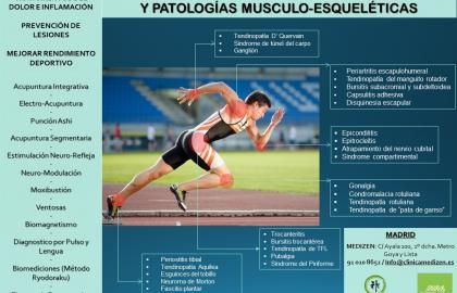 Acupuntura en Lesiones Deportivas y Patologías Musculo-Esqueléticas