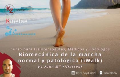 Biomecánica de la marcha normal y patológica (iWalk) iBiomechanics + Kinetae