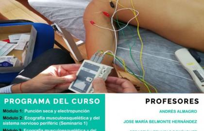 ¡Últimas plazas! Experto universitario en fisioterapia invasiva y ecografía musculoesquelética (Madrid) Fisioform-Ucam. 30 créditos ects