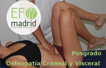 Posgrado de Osteopatía Craneal y Visceral