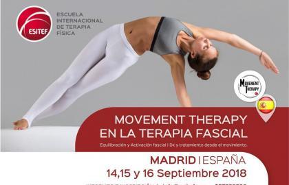 MOVEMENT THERAPY EN LA TERAPIA FASCIAL-  Equilibración y activación fascial desde el movimiento.