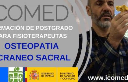 Formación OSTEOPATIA CRANEO SACRAL ICOMED 2020-2021 Asturias