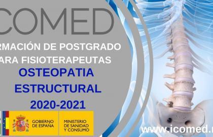 """Formación en Osteopatía Estructural ICOMED 9ª PROMOCION """"por una formación mas humanizada"""""""