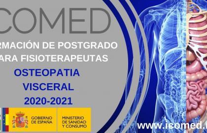Formación OSTEOPATÍA VISCERAL ICOMED 2020-2021 CANTABRIA