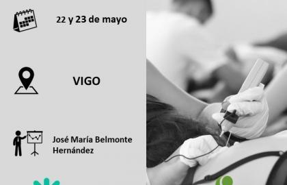 Curso punción seca y electropunción aplicada a patología clínica (Vigo)